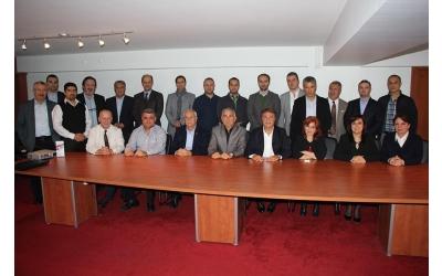 Kasım 2014 YK Toplantımız - Enriko Aliberti - Ata Sağlık Anlaşması