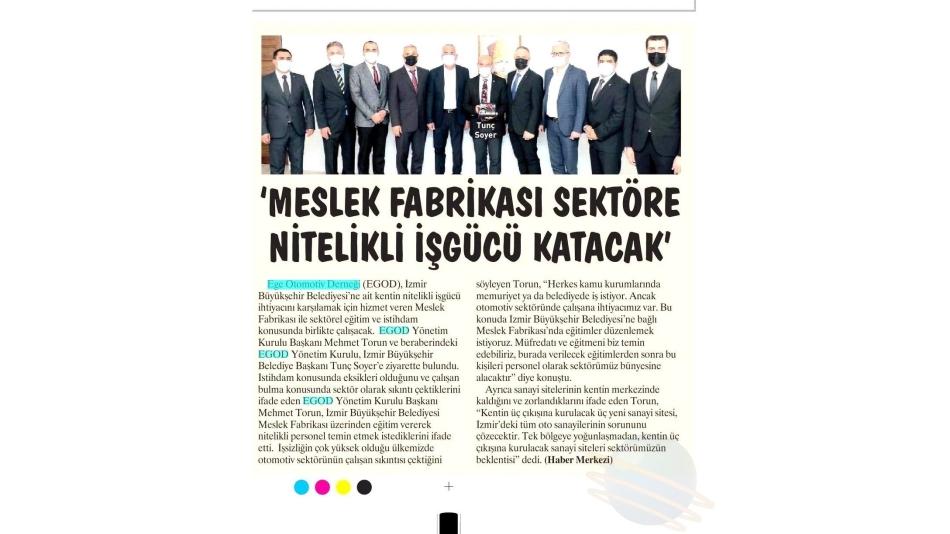 Ege Telgraf Gazetesi 10.06.2021