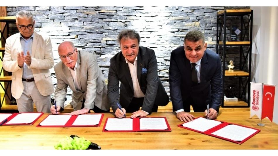 STK Yerleşkesi İçin Bornova Belediyesi ile İlk İmzalar Atıldı
